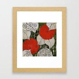 Sunshine and Bloom Framed Art Print