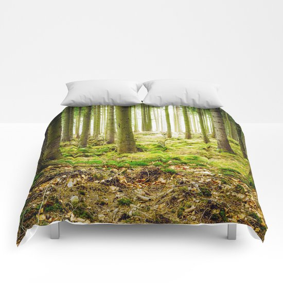 A Fairytale Forest Comforters