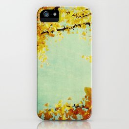 Gingko Branches iPhone Case
