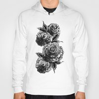 roses Hoodies featuring Four Roses by BIOWORKZ