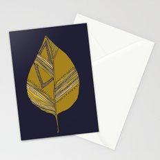 pattern leaf Stationery Cards