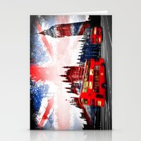london Stationery Cards featuring London  by mark ashkenazi