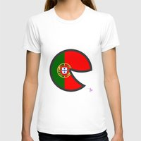 portugal T-shirts featuring Portugal Smile by onejyoo