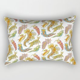 Ernst Haeckel Nudibranch Sea Slugs Rectangular Pillow