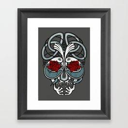 Celtic Skull Framed Art Print