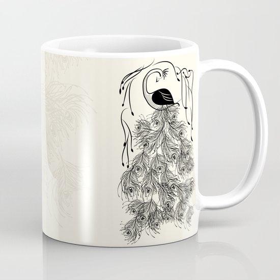 Jungle Peacock Mug