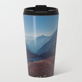 Foggy Mountain Path Travel Mug