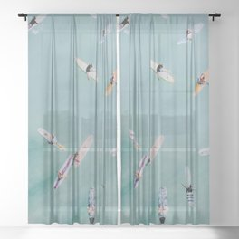 float xviii Sheer Curtain