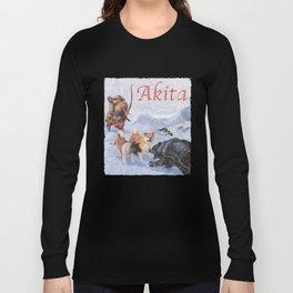 Akita Long Sleeve T-shirt