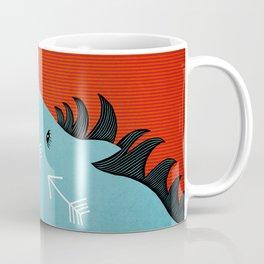 The Blue Stallion Coffee Mug