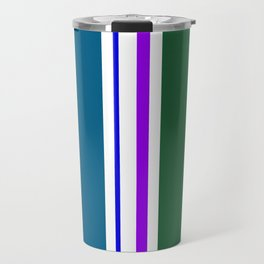 Stripes in colour 3 Travel Mug