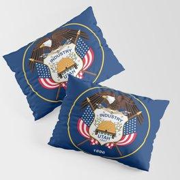 Utah State Flag - Authentic Version Pillow Sham
