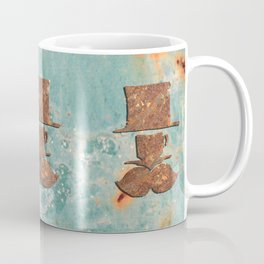Rusty coffee shop sign Coffee Mug