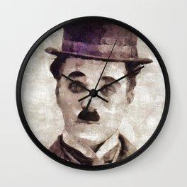 Charlie Chaplin, Comedy Legend Wall Clock