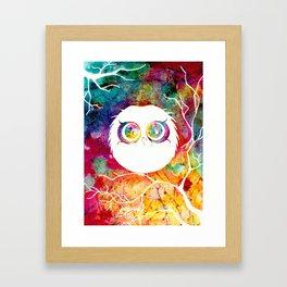 """""""Last Remaining Light"""" Owl Framed Art Print"""