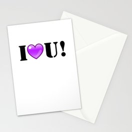 I Purple You! Stationery Cards