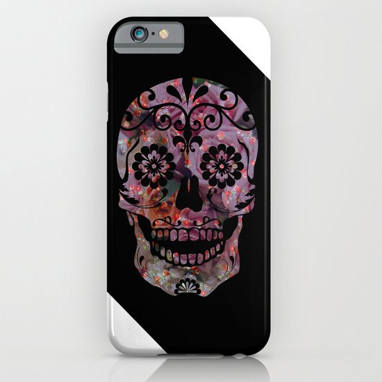 Rachel's Skull iPhone & iPod Case