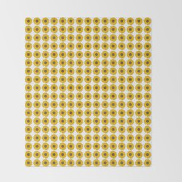 Sunflower Power Throw Blanket