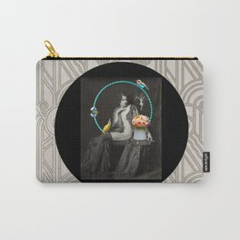 The Hoop Fairy & The Clown Canary Carry-All Pouch