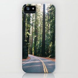Avenue of the Giants iPhone Case