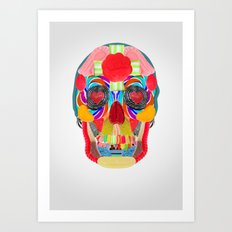 Sweet Sweet Sugar Skull Art Print