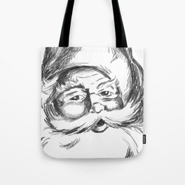 Jolly St. Nick Tote Bag