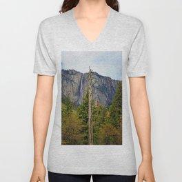 Tree In Yosemite Unisex V-Neck
