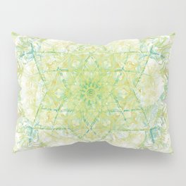 David star mandala-Maguen David-energetic shield-hand painted Pillow Sham