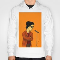 lou reed Hoodies featuring Lou Reed by Nick Gibney