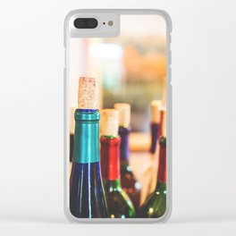 Wine Not Clear iPhone Case