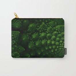 Macro Romanesco Broccoli - Low Key Carry-All Pouch