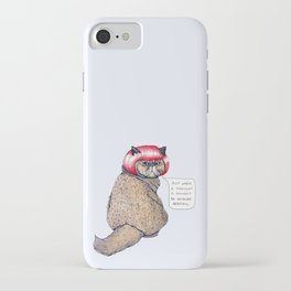 Cat Style iPhone Case