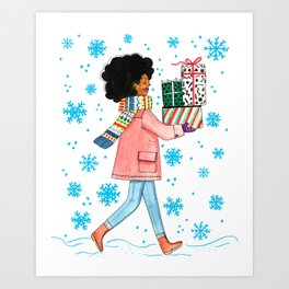 Gifts Art Print