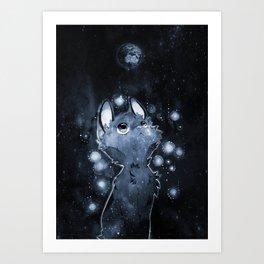 9 Hearts Art Print