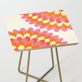 Dahlia at 60's Side Table