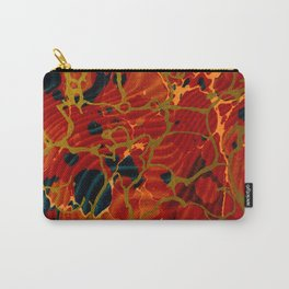 Marbelous Copper and Gold Carry-All Pouch
