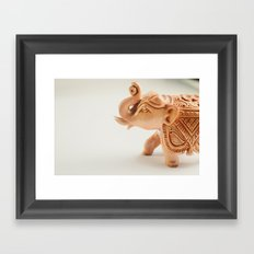 The Hindu elephant Framed Art Print