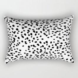 Dalmat-b&w-Animal print I Rectangular Pillow