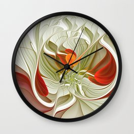 Fractal Art Bring Color Into Your Life Wall Clock