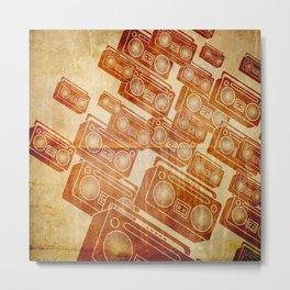 boomboxes 1 Metal Print