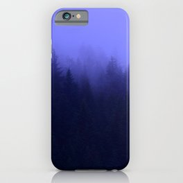 Periwinkle Fog 0367 - Seward, Alaska iPhone Case