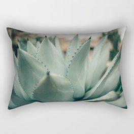 Agave Succulent Rectangular Pillow