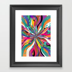 Pop Tunnel Framed Art Print