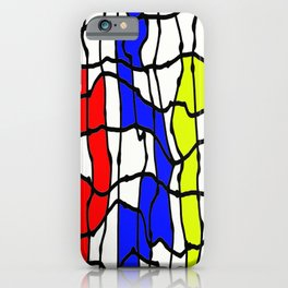 Take The Colourful Path iPhone Case