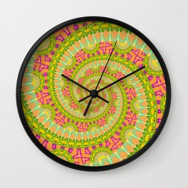 Wonderfull POWER SPIRAL SUNNY Wall Clock