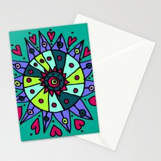 Cara Blue Stationery Cards