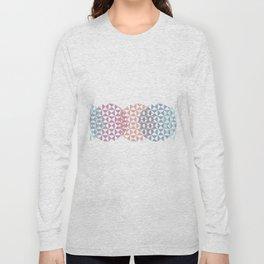 overlapping circles Long Sleeve T-shirt