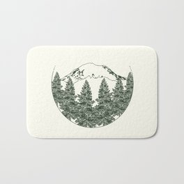 Mt. Rainier Bath Mat