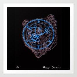 Bearson Art Print