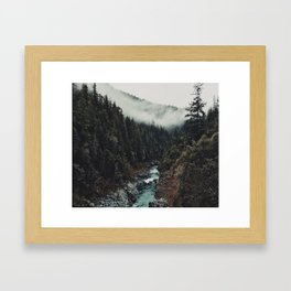 When the sky touch the wild Framed Art Print